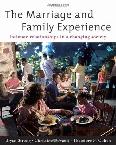 9780534624255: The Marriage and Family Experience: Intimate Relationship in a Changing Society