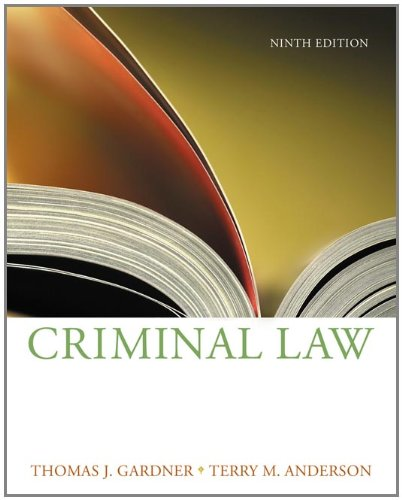 9780534624569: Criminal Law (Available Titles CengageNOW)