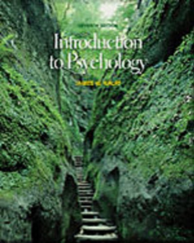 9780534624606: Introduction to Psychology (Book + CD-ROM)
