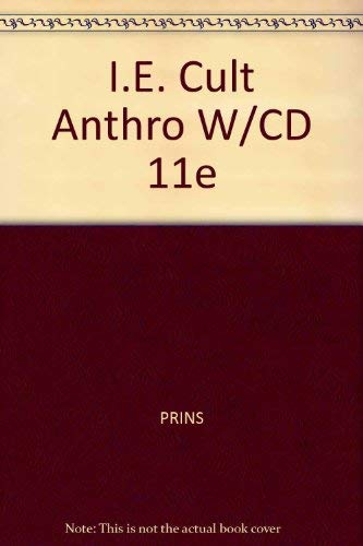 I.E. Cult Anthro W/CD 11e (0534624979) by PRINS; WALRATH; MC; HAVILAND