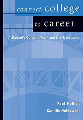 9780534625825: Connect College to Career (Wadsworth College Success)