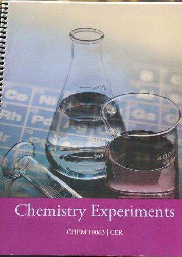 Signature Lab Series-Chemistry Experiments/CHEM 10063: Starnz