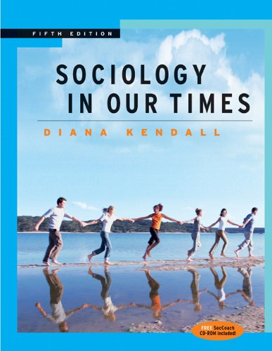 9780534626853: Sociology in Our Times (with CD-ROM and InfoTrac)