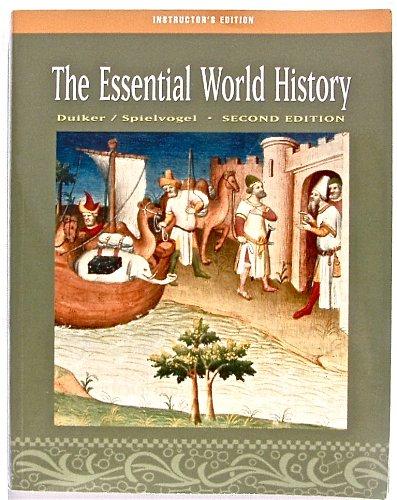 9780534627164: IE Essential Wrld His W/CD 2e
