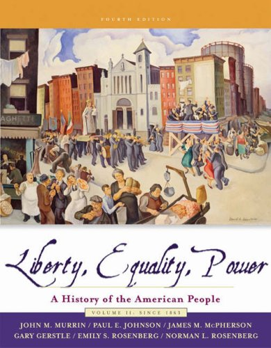 Liberty, Equality, and Power: A History of: John M. Murrin,