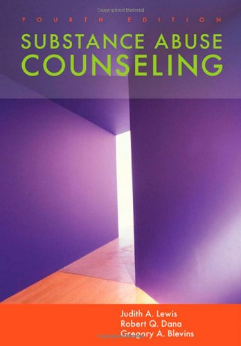 9780534628451: Substance Abuse Counseling (SW 393R 23-Treatment of Chemical Dependency)