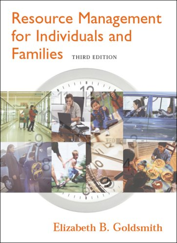 9780534628567: Resource Management for Individuals and Families (with InfoTrac)