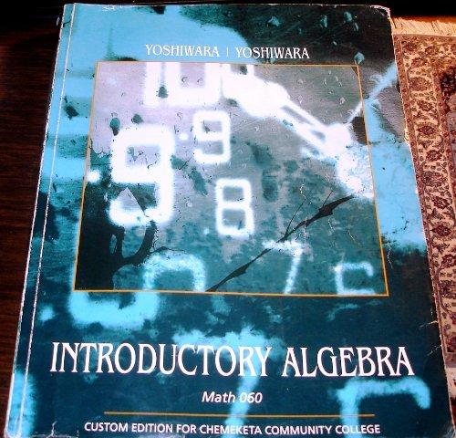 9780534628734: Introductory Algebra (Custom Edition for Chemeketa Community College, Math 060)