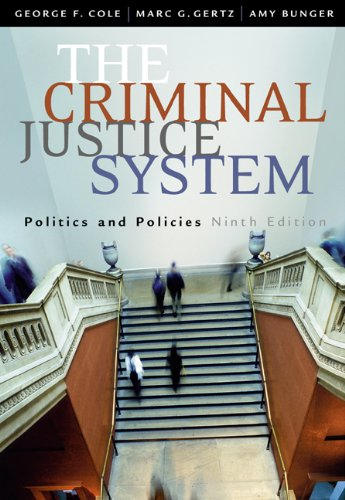 9780534628741: The Criminal Justice System: Politics and Policies
