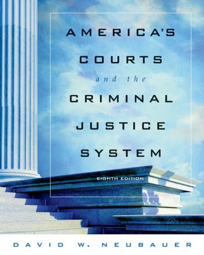 9780534628925: America's Courts and the Criminal Justice System (with CD-ROM and InfoTrac)