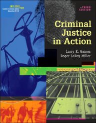 9780534629038: Criminal Justice in Action (Paperbound Edition with InfoTrac)