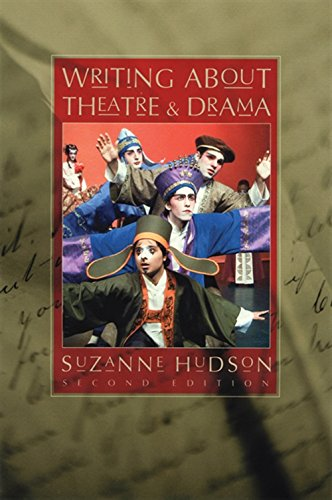 9780534629137: Writing About Theatre and Drama