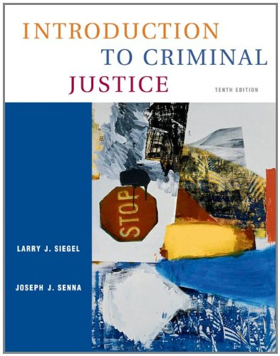 9780534629465: Introduction to Criminal Justice (with CD-ROM and InfoTrac)