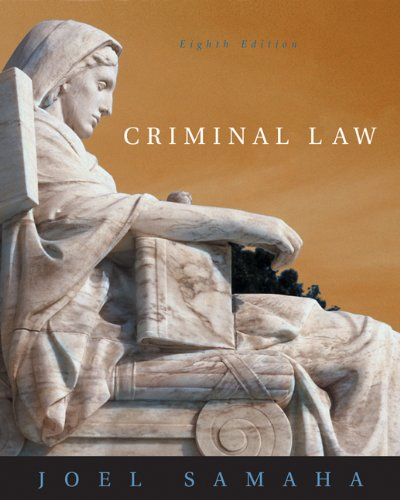 9780534629915: Criminal Law (with CD-ROM and InfoTrac)