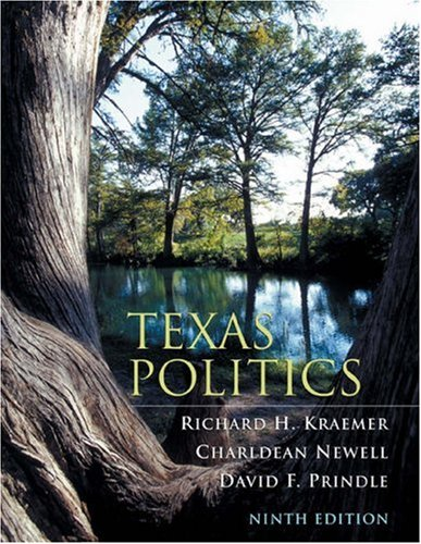 9780534631291: Texas Politics (with InfoTrac )