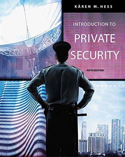 9780534632045: Introduction to Private Security