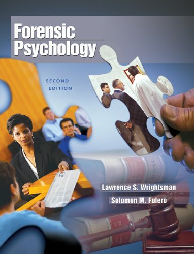 9780534632250: Forensic Psychology