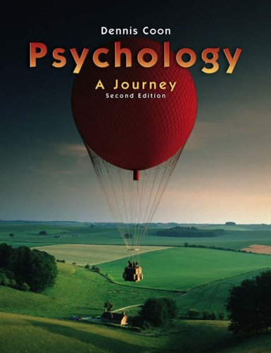 9780534632649: Psychology: A Journey (with Practice Exams and InfoTrac) (Available Titles CengageNOW)