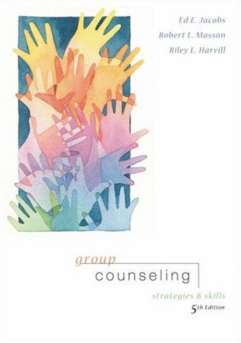 9780534632816: Group Counseling: Strategies and Skills