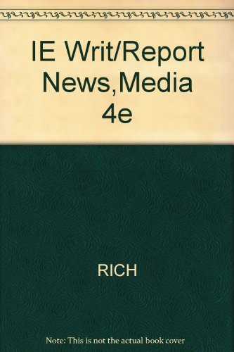 9780534633387: Writing And Reporting News: A Coaching Method