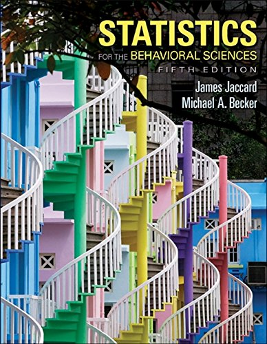 9780534634032: Statistics for the Behavioral Sciences (PSY 200 (300) Quantitative Methods in Psychology)