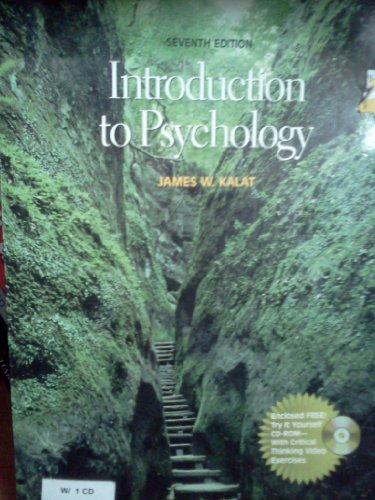 9780534634186: Introduction to Psychology