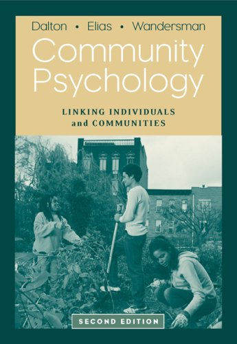 9780534634544: Community Psychology: Linking Individuals and Communities
