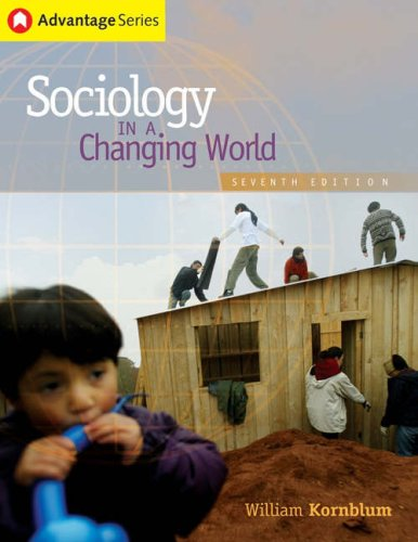 9780534636791: Cengage Advantage Books: Sociology in a Changing World (with CD-ROM and InfoTrac) (Advantage Series:)
