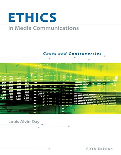 9780534637149: Ethics in Media Communications: Cases and Controversies (with InfoTrac)