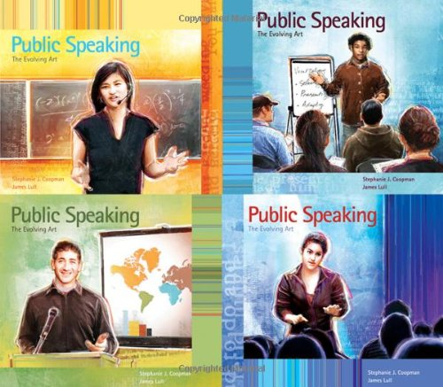 9780534637279: Public Speaking: The Evolving Art (with Enhanced eBook, Resource Center, Interactive Video Activities, SpeechBuilder, Website, InfoTrac Printed Access Card)