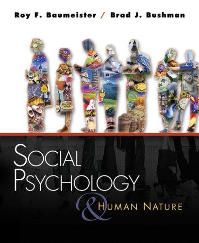 9780534638320: Social Psych and Human Nature
