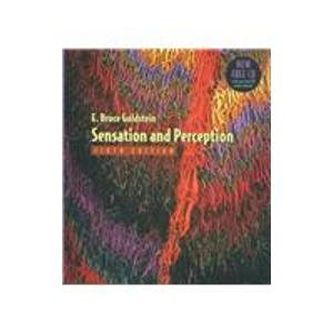 9780534639914: Sensation and Perception, Media Edition (Available Titles CengageNOW)