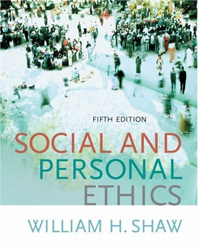 9780534640248: Social and Personal Ethics (with InfoTrac)