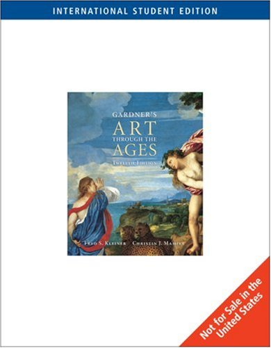 9780534641245: Gardner's Art Through the Ages - Twelfth Edition