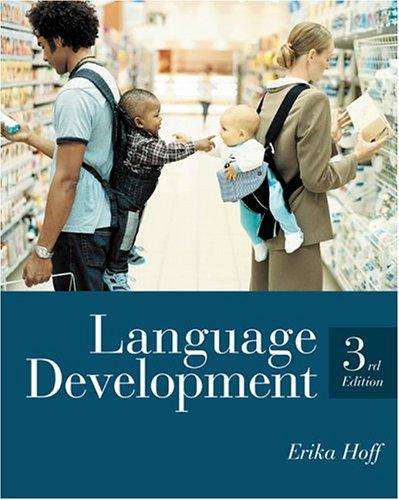 9780534641702: Language Development, 3rd Edition