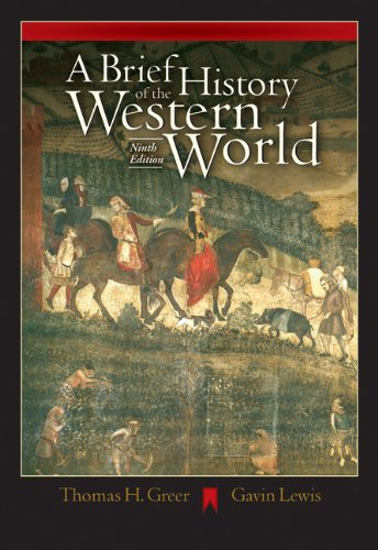 9780534642365: A Brief History of the Western World (with CD-ROM and InfoTrac)