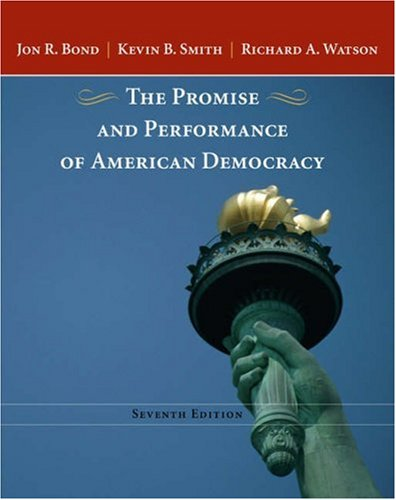 9780534643157: Promise and Performance of American Democracy