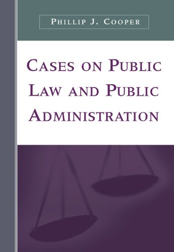 9780534643218: Cases on Public Law and Public Administration