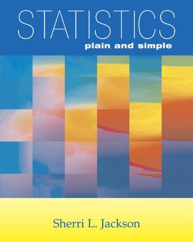9780534643713: Statistics Plain and Simple