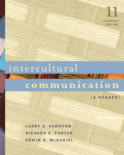 9780534644406: Intercultural Communication With Infotrac: A Reader