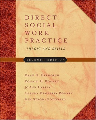 9780534644581: Direct Social Work Practice: Theory and Skills (with InfoTrac®)