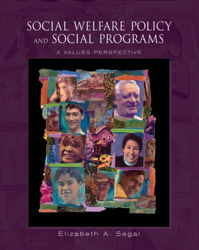 9780534644932: Social Welfare Policy and Social Programs: A Values Perspective