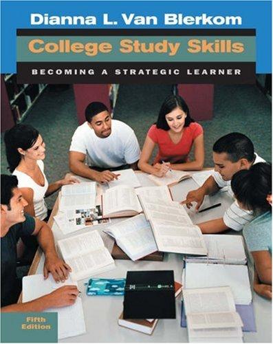 9780534645403: College Study Skills: Becoming a Strategic Learner
