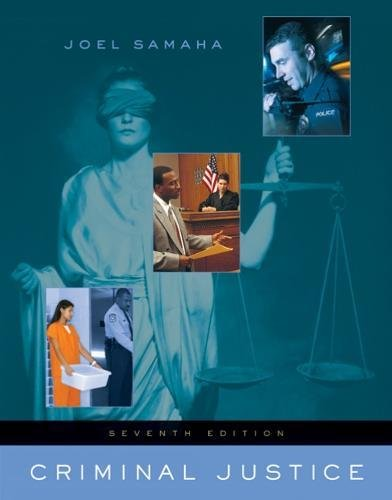 9780534645571: Criminal Justice (with InfoTrac) (Available Titles CengageNOW)