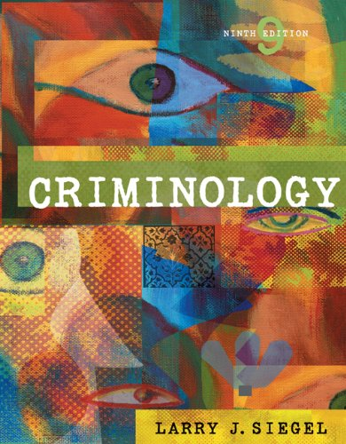 9780534645779: Criminology (with CD-ROM and InfoTrac) (Available Titles CengageNOW)