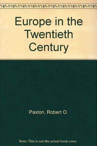 9780534646004: Europe in the Twentieth Century