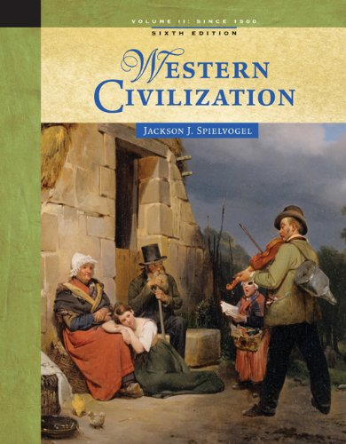 9780534646042: 2: Western Civilization: Volume II: Since 1500
