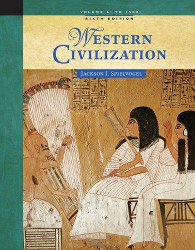 9780534646059: Western Civilization: Volume A: To 1500