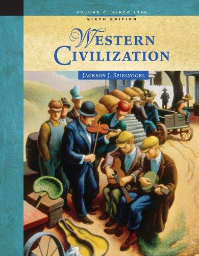 9780534646073: Western Civilization: Volume C: Since 1789