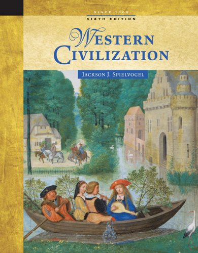 9780534646080: Western Civilization: Alternate Volume: Since 1300